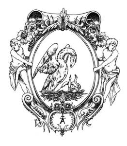 Ilustracja do książki - Klub Dumas, Arturo Pérez-Reverte.