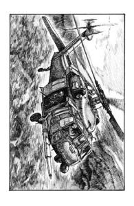 Ilustracja do książki - W lustrze, John Ringo.