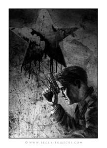 Ilustracja do książki - Spowiedź Parfena, Sebastian Reńca.