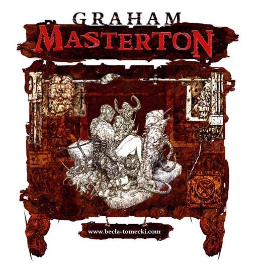 Ndruk na Koszulkę dla Grahama Mastertona